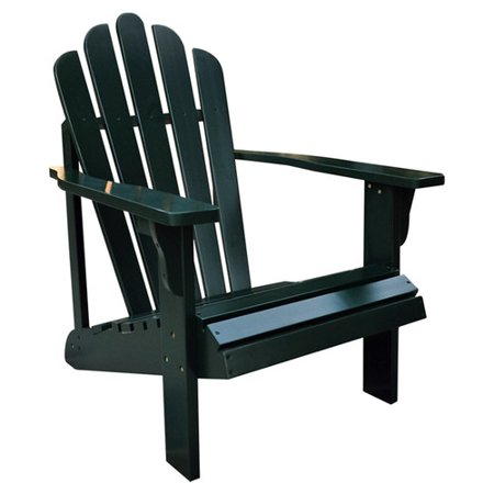 Adirondack Chair in Cedar Curved Seat & High Fan Back - Standard Westport (Burnt (Adirondack Fan Back Chair)