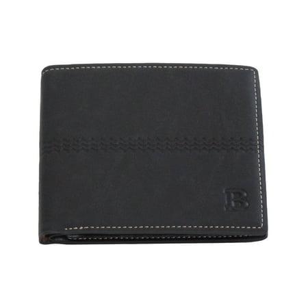 Mens Classic Bi-Fold Wallet