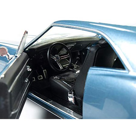 1967 Chevrolet Camaro Z/28 50th Anniversary Nantucket Blue Limited Edition to 1002pcs 1/18 Diecast Model Car by Autoworld - image 1 de 3