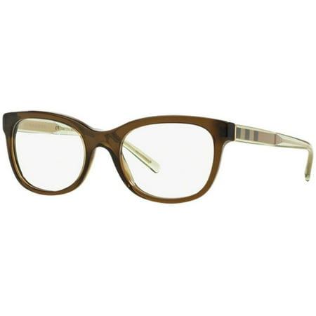 Burberry BE2213-3010 Women\'s Olive Green Frame Genuine Eyeglasses ...