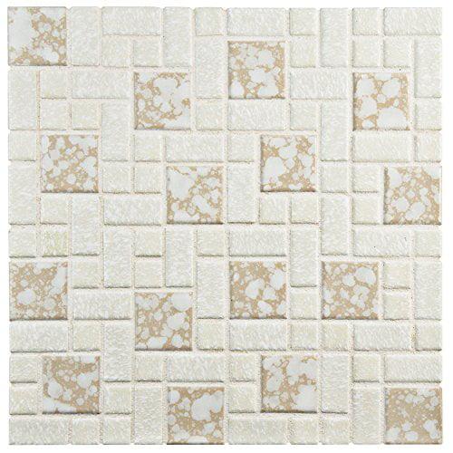 Somertile FKOUV480 Academy Bone Porcelain Floor and Wall ...