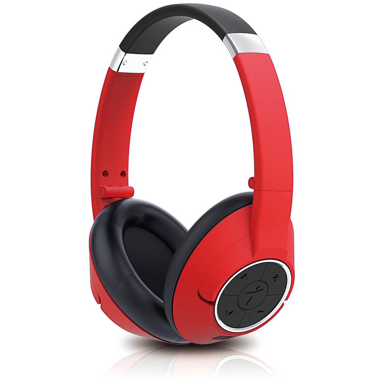 Genius HS-930BT Bluetooth Headset, Red