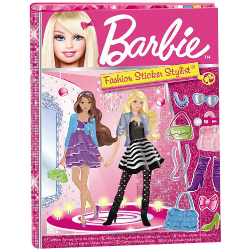 3 x Barbie Sticker Fun 5 Sheets each of Reusable Stickers kids Girls Gift