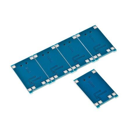 5pcs 5V 1A Micro USB 18650 Lithium Battery Charging + Protection Circuit Board Module - image 3 de 7