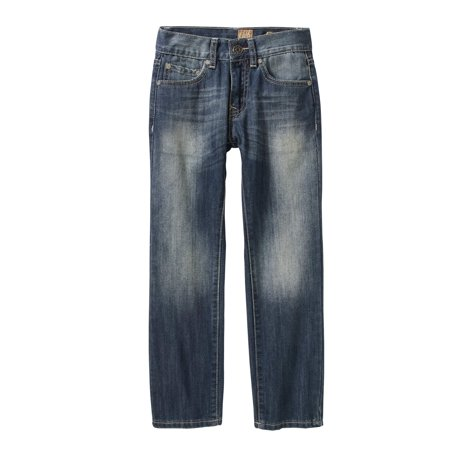Tokyo Five Boys' Straight Leg Fashion Denim With Flap Back Pockets
