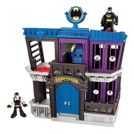 Fisher Price Imaginext X6341 Dc Super Friends Batman Gotham City Jail Playset