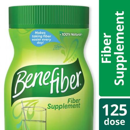 (2 Pack) Benefiber Taste-Free, Sugar-Free Fiber Supplement Powder for Digestive Health, 125 servings (17.6