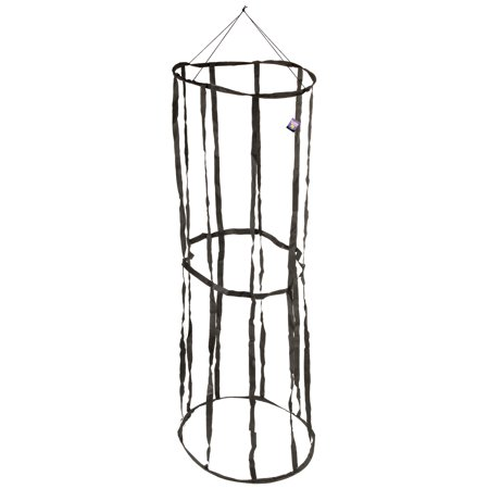 Tomato Cage Halloween Decorations (Halloween Haunters Hanging 6 Foot Prison Jail Cell Cage Prisoner Prop)