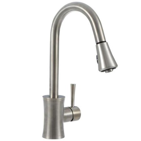 Pegasus Luca Single Handle Pull Down Sprayer Kitchen Faucet In