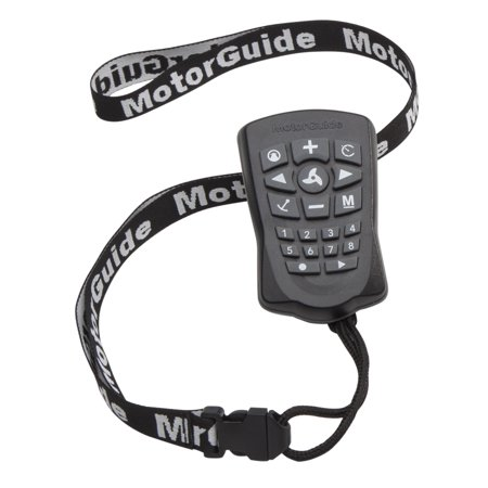 MotorGuide 8M0092071 Xi Series Pinpoint GPS Navigation Replacement Remote with Lanyard Remote Lanyard Replacement