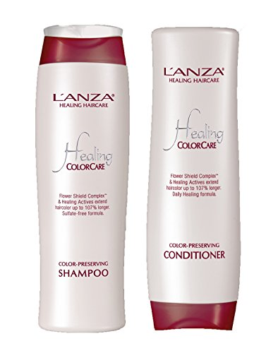 L'Anza Healing Color Care Color Preserving 10.1 oz. Shampoo + 8.5 oz. Conditi...