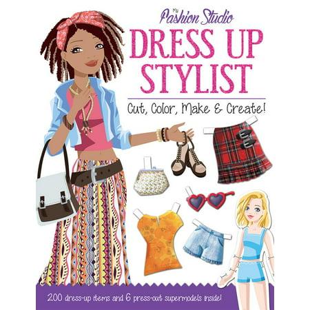 My Fashion Studio: My Fashion Studio: Dress Up Stylist: Cut, Color, Make & Create! (Paperback)