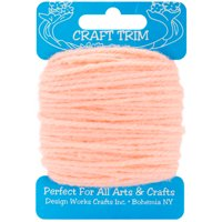 Design Works Craft Yarn 20yd-Peach