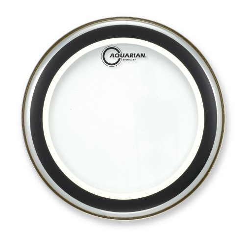 Aquarian SX16 Studio-X Clear 16 Batter Drum Head by Aquarian