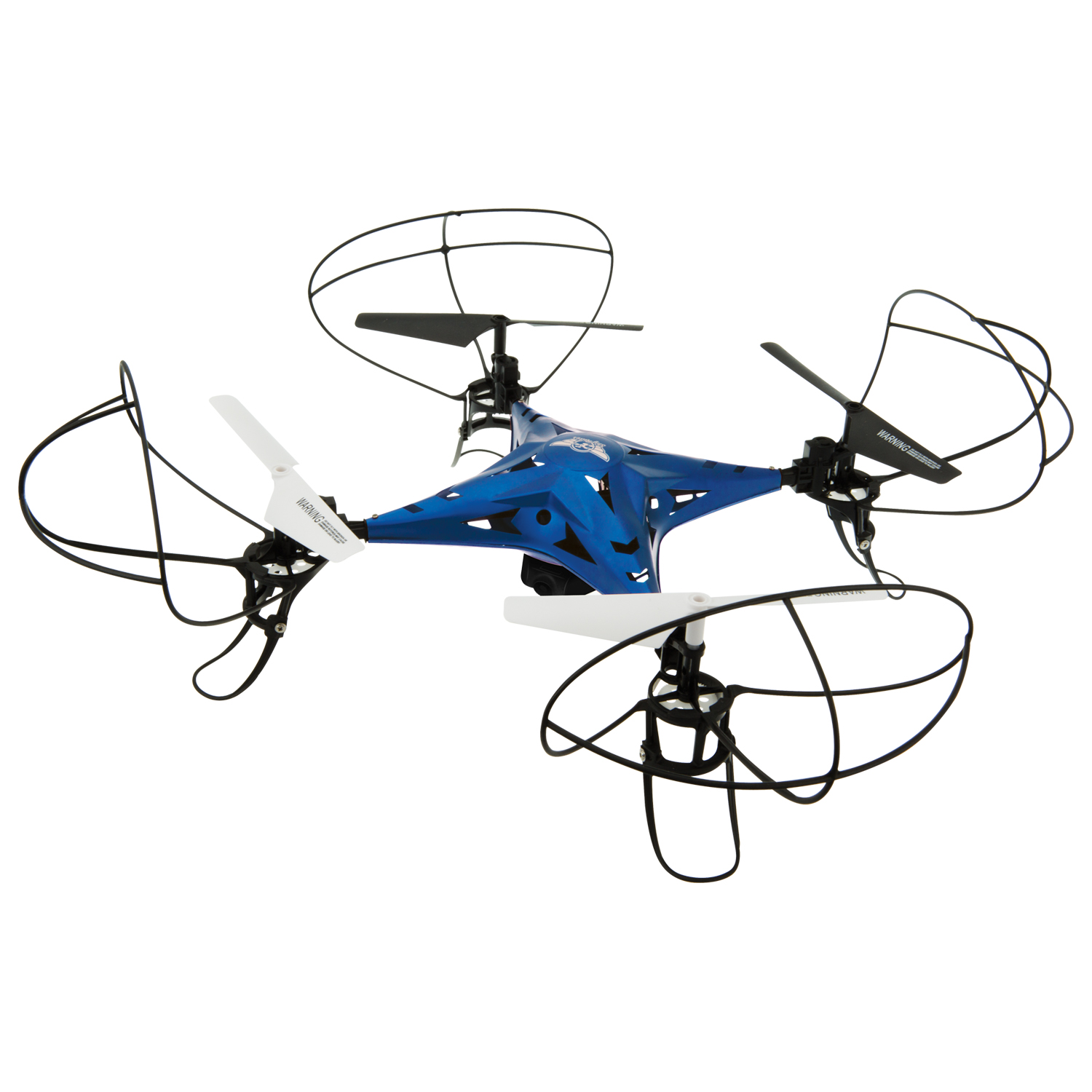 Sky Rider Metal Alloy Drone Quadcopter with Wi-Fi Camera & Extra Battery, DRW637BUVP by Sky Rider