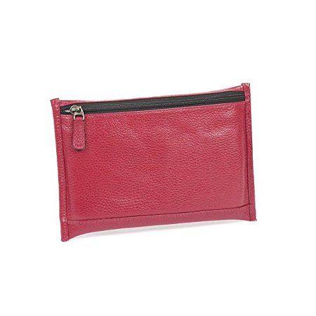 Claire Chase Leather Mini I-Pouch in Red (Best Packing Cubes Reviews)