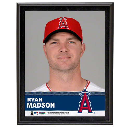 MLB - Ryan Madson Sublimated 10x13 Plaque | Details: Los Angeles Angels of Anaheim