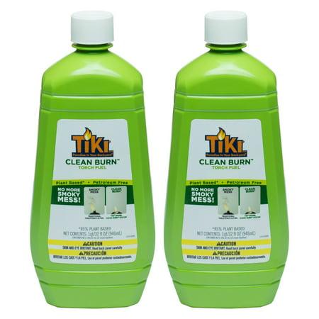 Tiki 32 oz. Clean Burn Torch Fuel - Set of - Tiki Torches Cheap