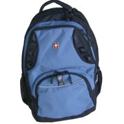 Swiss Gear Blue Computer Backpack Sport Large Capacity School Travel Pack