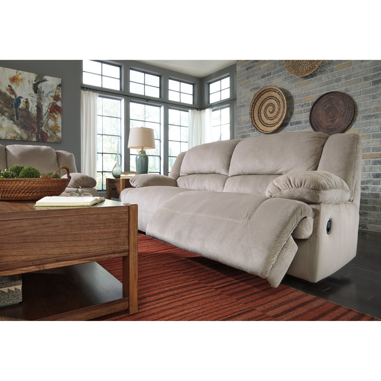 Signature Design by Ashley Toletta Reclining Sofa