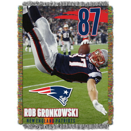 Nfl 48  X 60  Players Series Tapestry Throw  Rob Gronkowski