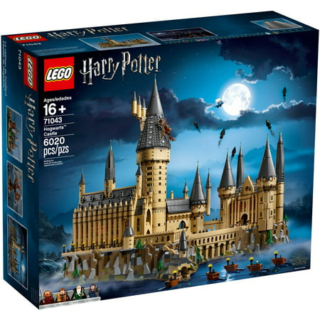 LEGO Harry Potter Hogwarts Castle Advanced Building Set Model with Harry Potter Minifigures 71043
