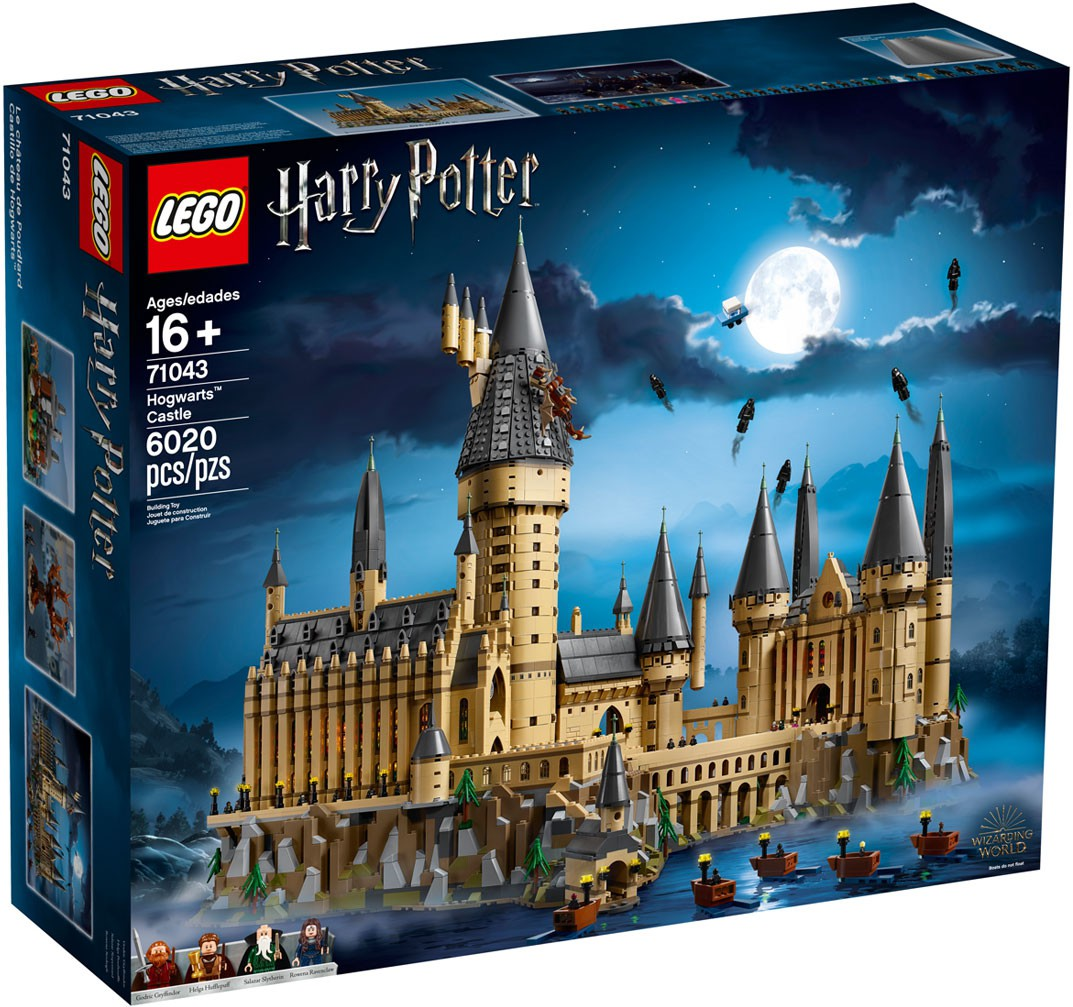 Harry Potter Hogwarts Castle Set LEGO 71043 [2018]