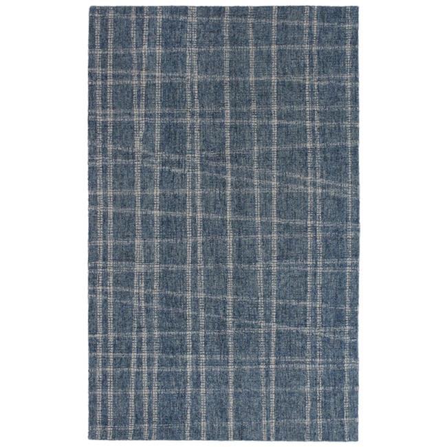 Trans-Ocean Imports SVH23950603 24 x 36 in. Liora Manne Savannah Mad Plaid Indoor Rug, Blue - image 1 de 1