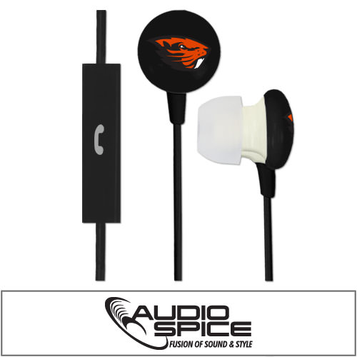 Oregon State Beavers Ignition Earbuds + Mic