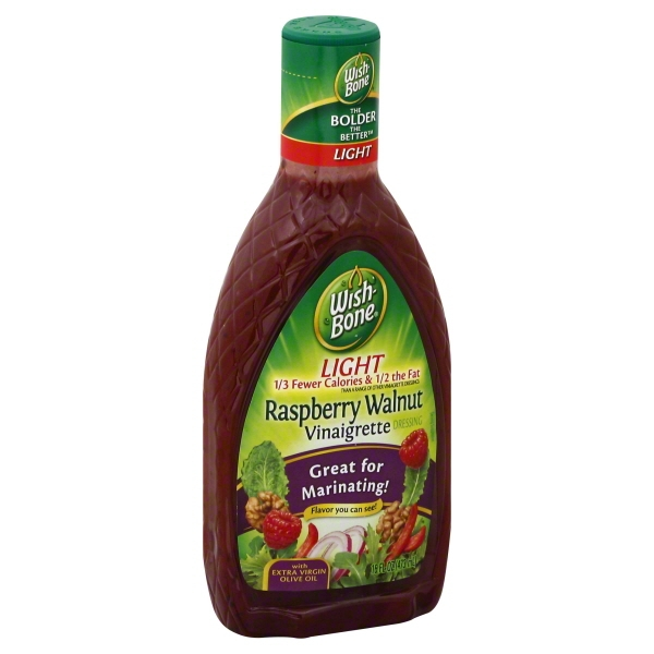 Wish-Bone Light Raspberry Walnut Vinaigrette, 16 fl oz