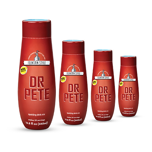 SodaStream Dr. Pete  (4 Pack) SodaStream Dr. Pete