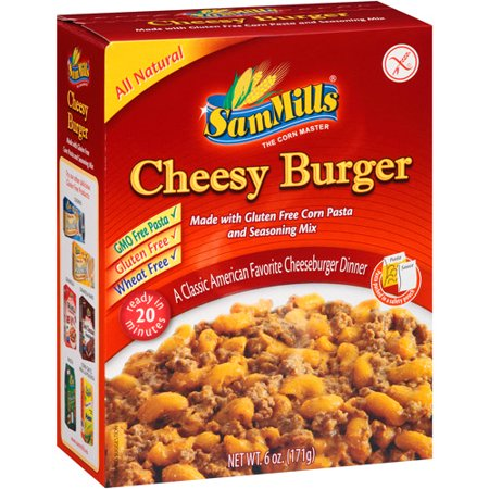 Sam Mills Cheesy Burger Dinner Mix  6 Oz