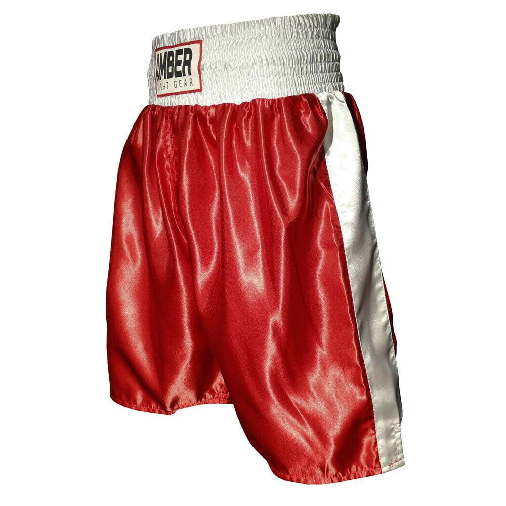 Amber Mens Boxing Shorts MMA Fight Kick Boxing Martial Arts Muay Thai UFC Trunks