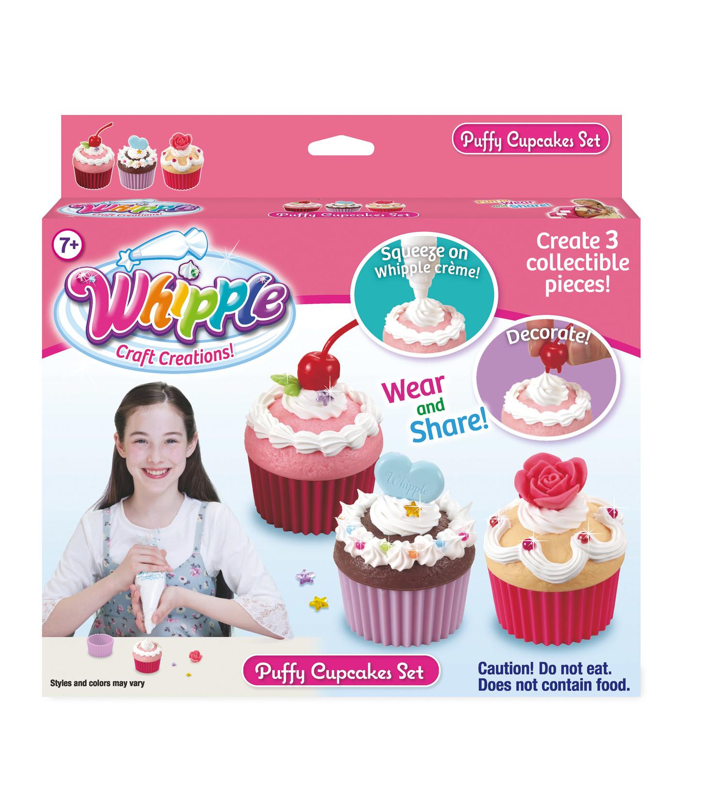 Whipple Puffy Cupcake Decorating Set