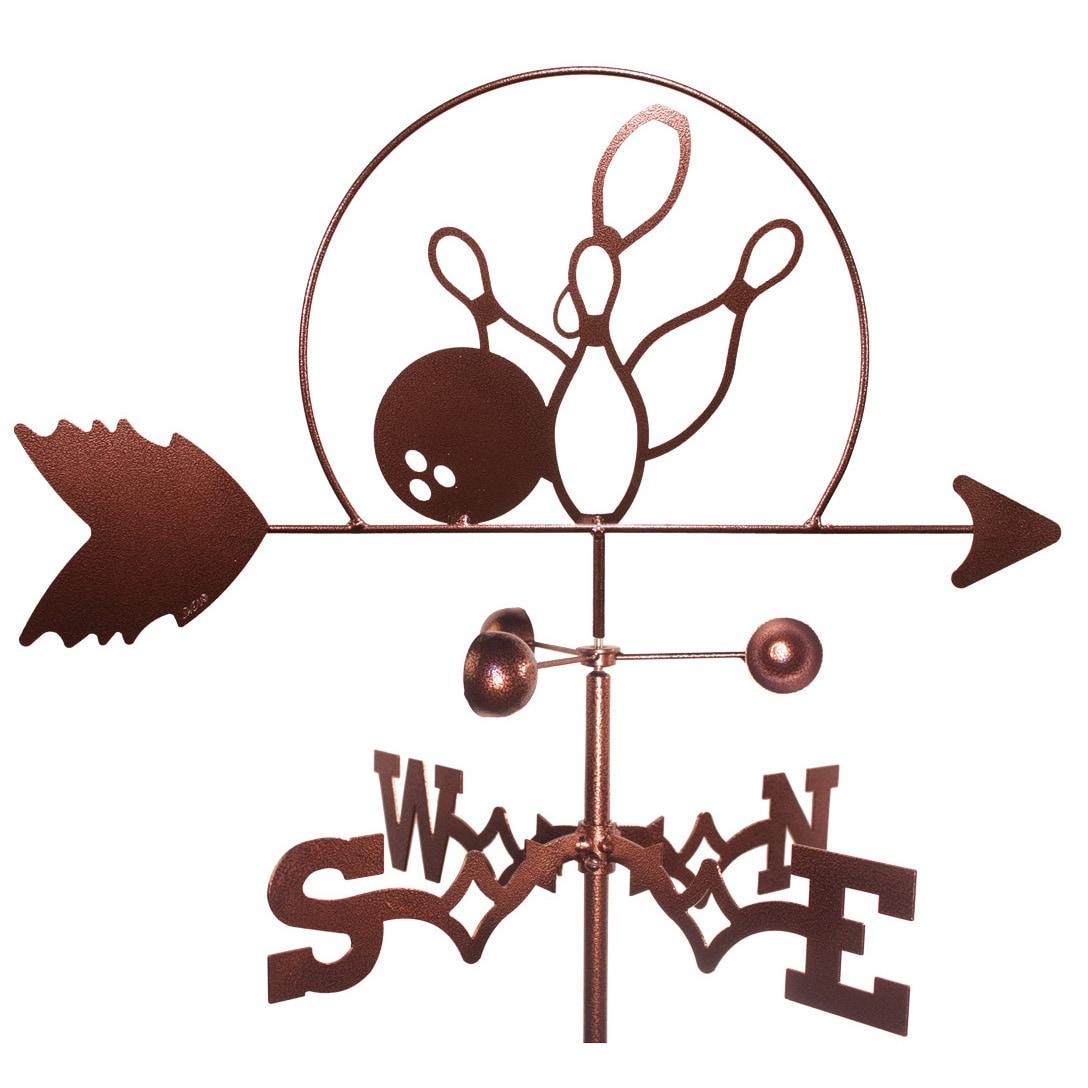 SWEN Products Bowling Pins PBA Strike Weathervane