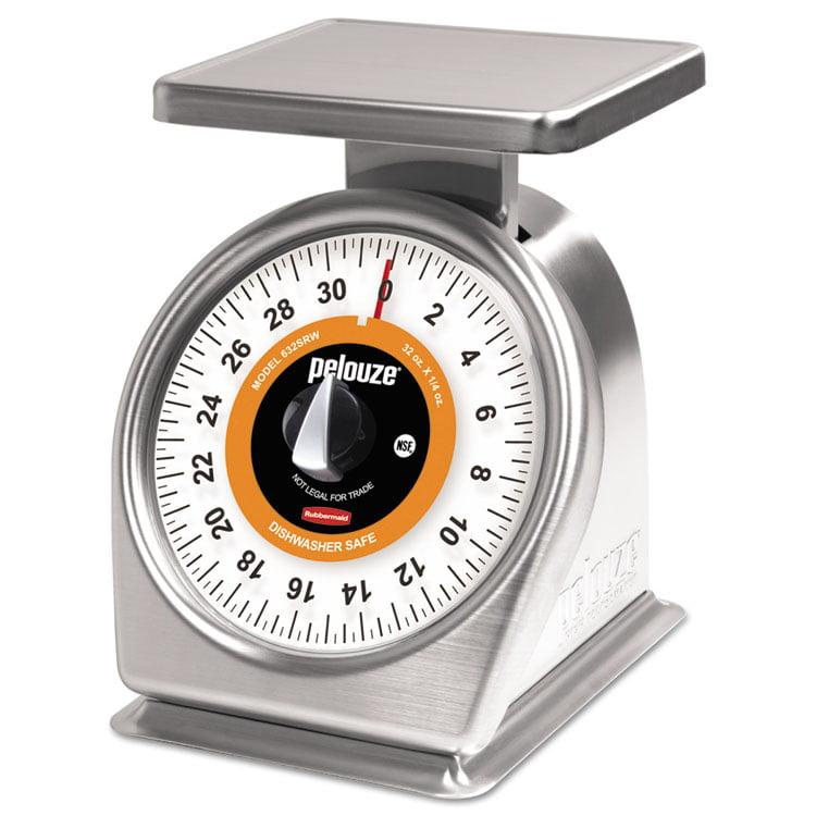 Pelouze Mechanical Portion-Control Scale, 32oz Cap, 7 X 5 Platform
