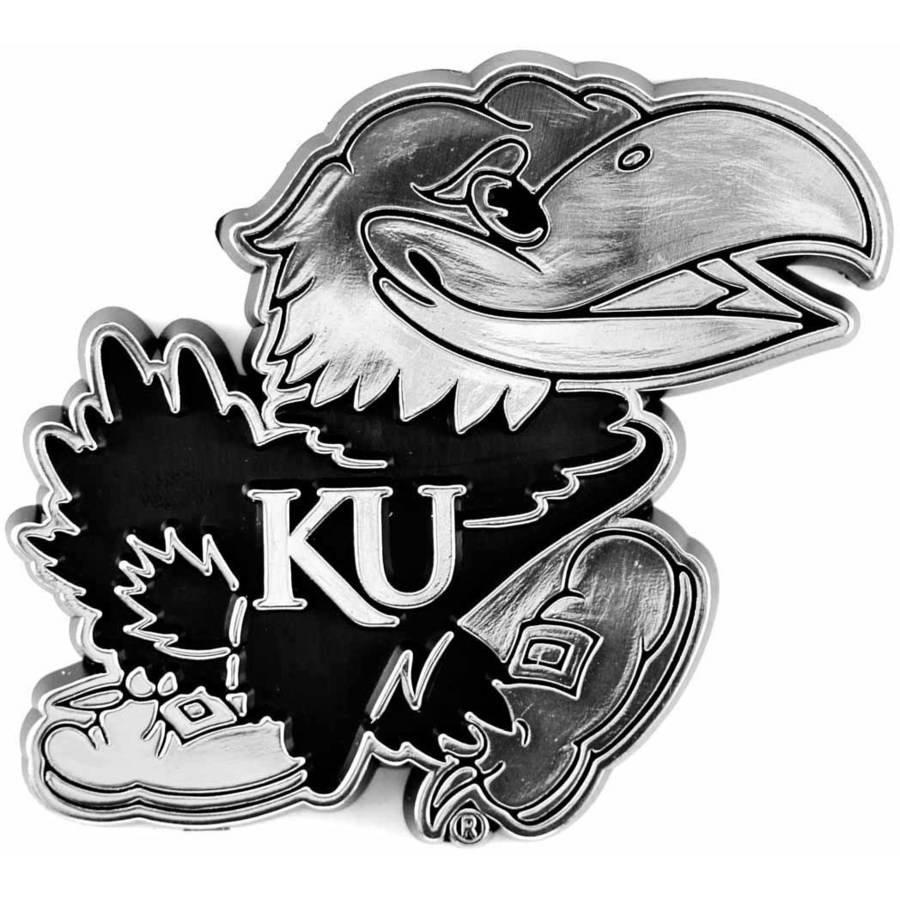 NCAA Kansas Chrome Emblem