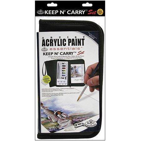 keep n 39 carry artist set acrylic paint