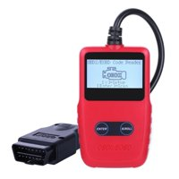 OBD2 Scanner Professional Car Diagnostic Scan Tool Fault Code Reader Clear One Click Check Engine Light Reset OBD Adapter for Cars Trucks