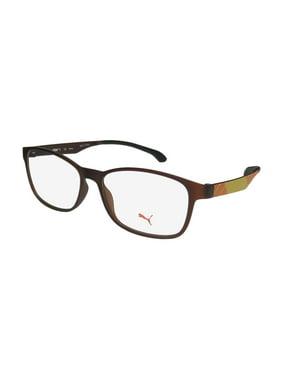 b7c33b1eaf08 Product Image New Puma 15441 Mens/Womens Designer Full-Rim Brown / Yellow /  Orange Popular