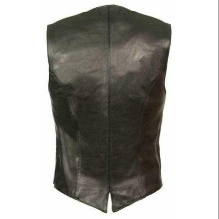 Milwaukee Leather Women's Classic Vest w/ Buffalo Snaps ML1253