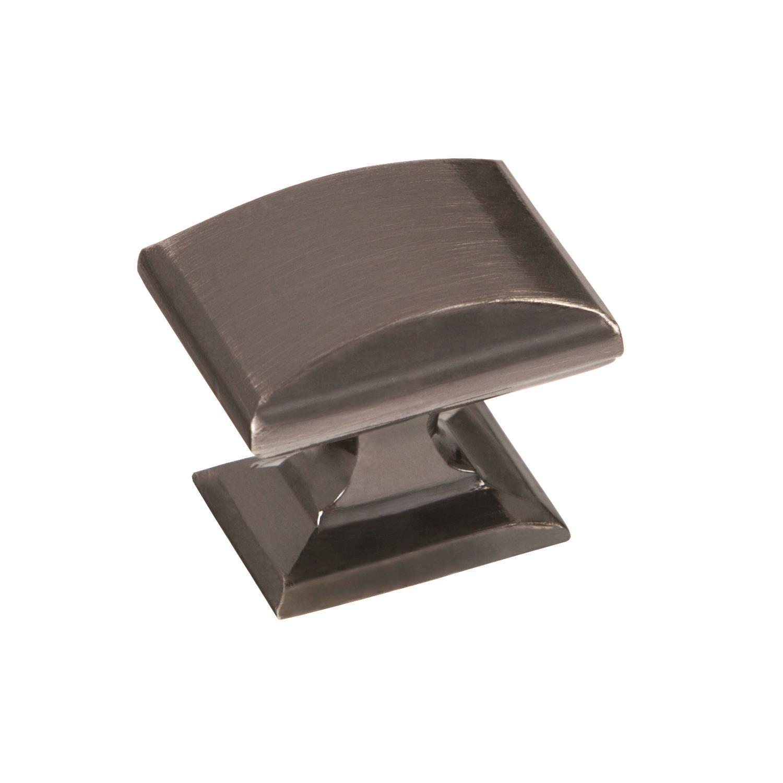 Candler 1-1/4 in (32 mm) Length Gunmetal Cabinet Knob