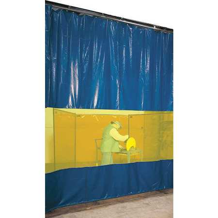 STEINER AWY60 Welding Curtain Partition Kit,10ft x 6ft ()