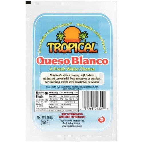 Tropical Fresh White Cheese, 16 oz