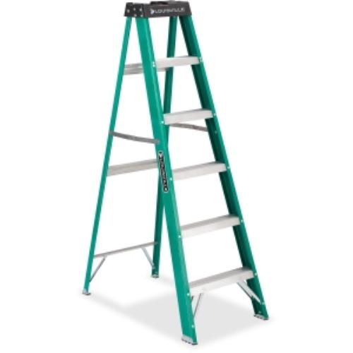 Davidson Ladders Fiberglass Step Ladder - 225 Lb Load Capacity - Green (fs4006_35)