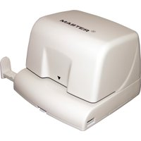 Master, MATEP210, Products Compact Electric 2-Hole Punch, 1 / Each, Platinum