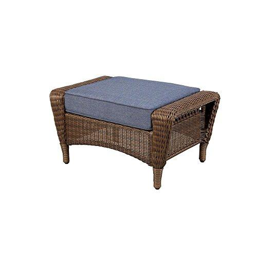 Hampton Bay spring haven brown all-weather wicker patio o...