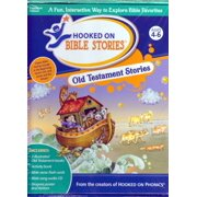 Hooked on Phonics OLD TESTAMENT BIBLE STORIES - Includes 3 Illustrated books, Bible verse flash cards, Audio CD & More
