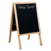Today's Special Cafe Sidewalk Chalkboard Sign w Oak Wood Trim