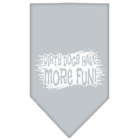 Dirty Dog Screen Print Bandana Grey Small (Dirty Dog Polarisierte Sonnenbrillen)